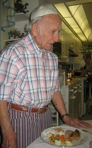 Golda's husband, David, Kirshner, a Holocaust survivor, is 101 years old. (Courtesy: Kirshner family)