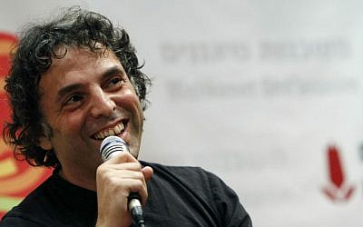 Writer Etgar Keret gave his royalty for the Farsi translation of his latest book, 'The Seven Good Years,' to the Iranian translator to cover his costs. (Miriam Alster/Flash90)