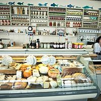 Illustrative: A kosher food shop. (Moshe Shai/ FLASH90)
