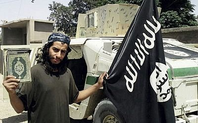 This undated image made available in the Islamic State's English-language magazine Dabiq, shows Abdelhamid Abaaoud, who was identified by French authorities as the presumed mastermind of the terror attacks in Paris on November 13, 2015. (Photo via AP)