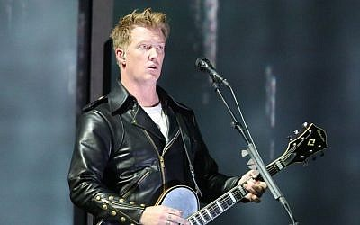 Joshua Homme of the Eagles of Death Metal band, which performed at the Bataclan venue in Paris on November 13, 2015. (Matt Sayles/Invision/AP, File)