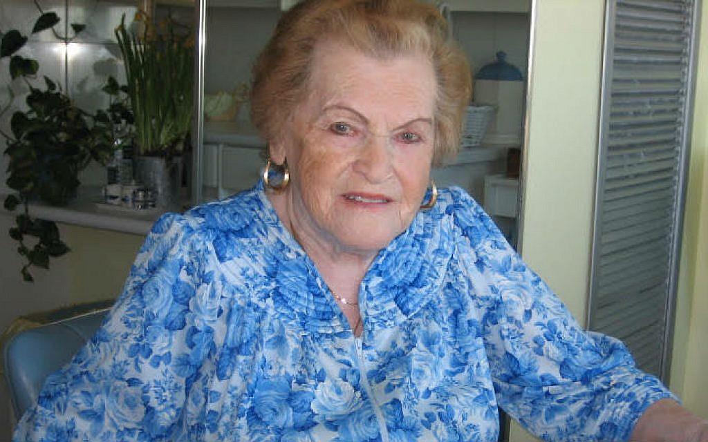 100-year-old Polish Holocaust survivor Golda Kirshner. (Courtesy: Kirshner family)