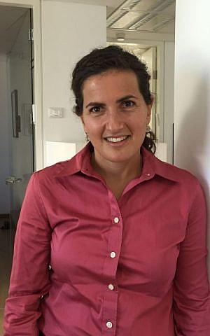 Dasee Berkowitz in a recent visit to The Times of Israel in Jerusalem, November 2, 2015. (Amanda Borschel-Dan/The Times of Israel)