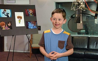 Asher Blinkoff, who plays the voice of Dennis in 'Hotel Transylvania 2' (Courtesy Saul Blinkoff)