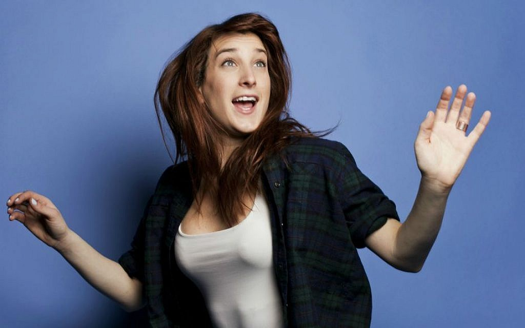 Comedian Joanna Hausmann is a proud 'Jewtina'. (Sandy Honig)
