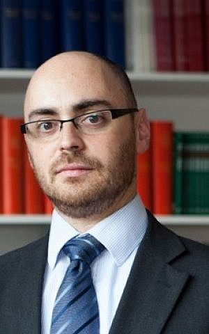 Dr. Jonathan Boyd, director of Britain's Institute for Jewish Policy Research (JPR) (courtesy)