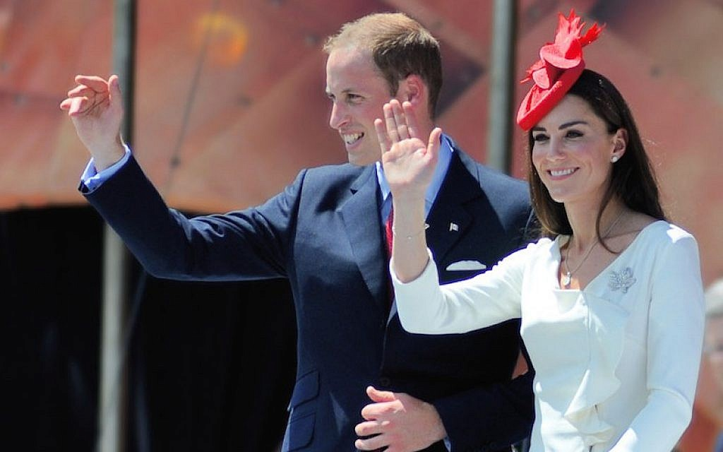 Prince William and Catherine, the Duchess of Cambridge, in Ottawa, Canada, July 1, 2011. (Wikimedia Commons)
