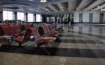 In this Monday, Nov. 9, 2015 file photo, the arrival hall is empty at the Sharm el-Sheikh Airport in south Sinai, Egypt. (AP/Ahmed Abd El-Latif, File)