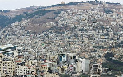 A view of the West Bank city of Nablus in 2013. (Creative Commons/Muataz Towfiq Agbaria)