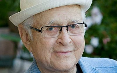 Norman Lear: 'There is humor everywhere. 'Standing with a group of people watching a casket go into the ground and [you see] the chief mourner scratching his [tuchas].' (courtesy via JTA)