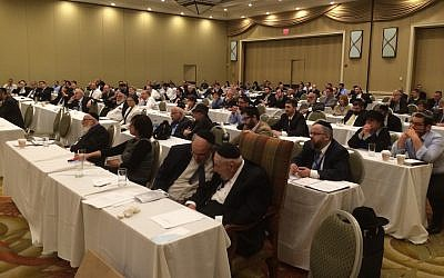 Illustrative: The Rabbinical Council of America's July 2015 annual meeting in upstate New York. (RCA)