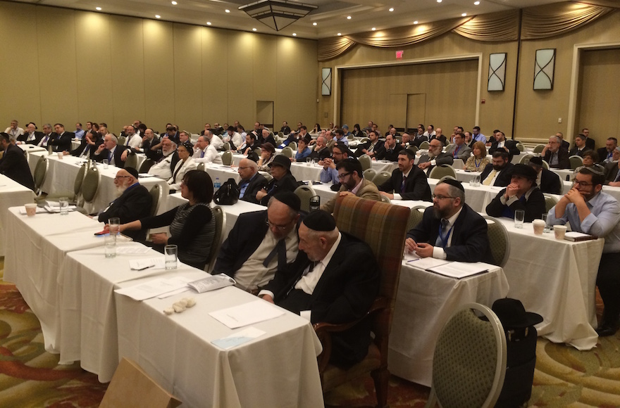 The Rabbinical Council of America held its annual meeting in suburban New York, July 2015. (RCA)