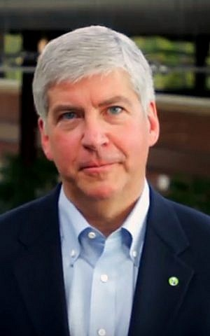 Michigan Governor Rick Snyder, (Wikimedia)