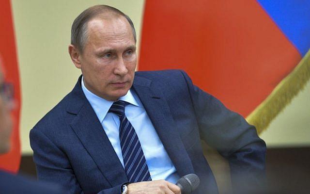 Russian President Vladimir Putin (Alexei Druzhinin, Sputnik, Kremlin Pool via AP)