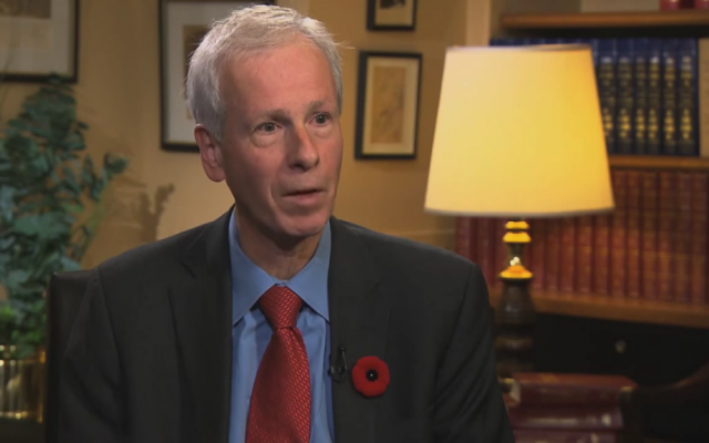 Outgoing Canadian Foreign Minister Stéphane Dion (screen capture: YouTube)