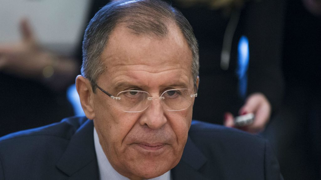 In this Thursday, Nov. 5, 2015 file photo, Russian Foreign Minister Sergey Lavrov attends a meeting with UN Under Secretary General and Emergency Relief Coordinator Stephen O'Brien in Moscow, Russia. (AP Photo/Pavel Golovkin, File)