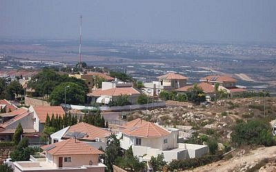 The West Bank settlement of Alfei Menashe (Wikimedia Commons/Jonathan Schilling/CC BY-SA 3.0)