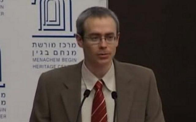 Ran Baratz (screen capture: YouTube)