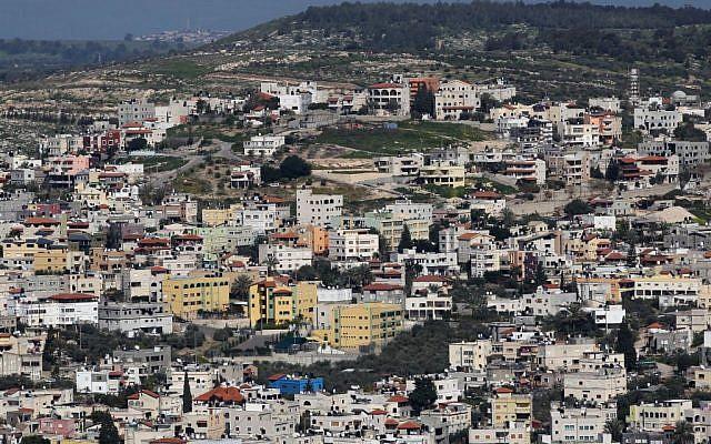 Kafr Kanna, in the Galilee region, March 28, 2011. (Nati Shohat/Flash90)