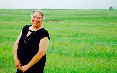 Rochelle Ripley, the granddaughter of Orthodox Jewish Holocaust survivors on one side and a full-blooded Lakota Siouxer on the other, is the founder of hawkwing. (Courtesy: Samantha Petersen)