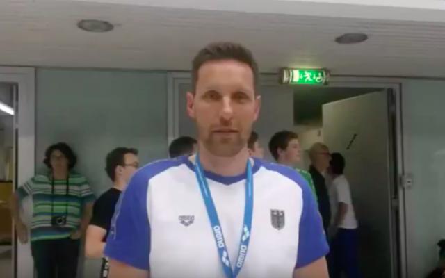 German swimming coach Henning Lambertz (screenshot: YouTube)