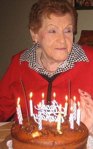 Golda Kirshner of Toronto turns 100. (Courtesy: Kirshner family)