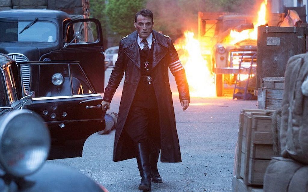 American Nazi official  Obergruppenfuhrer John Smith (Rufus Sewell) in the TV series 'The Man in the High Castle' (Courtesy of Amazon Studios)
