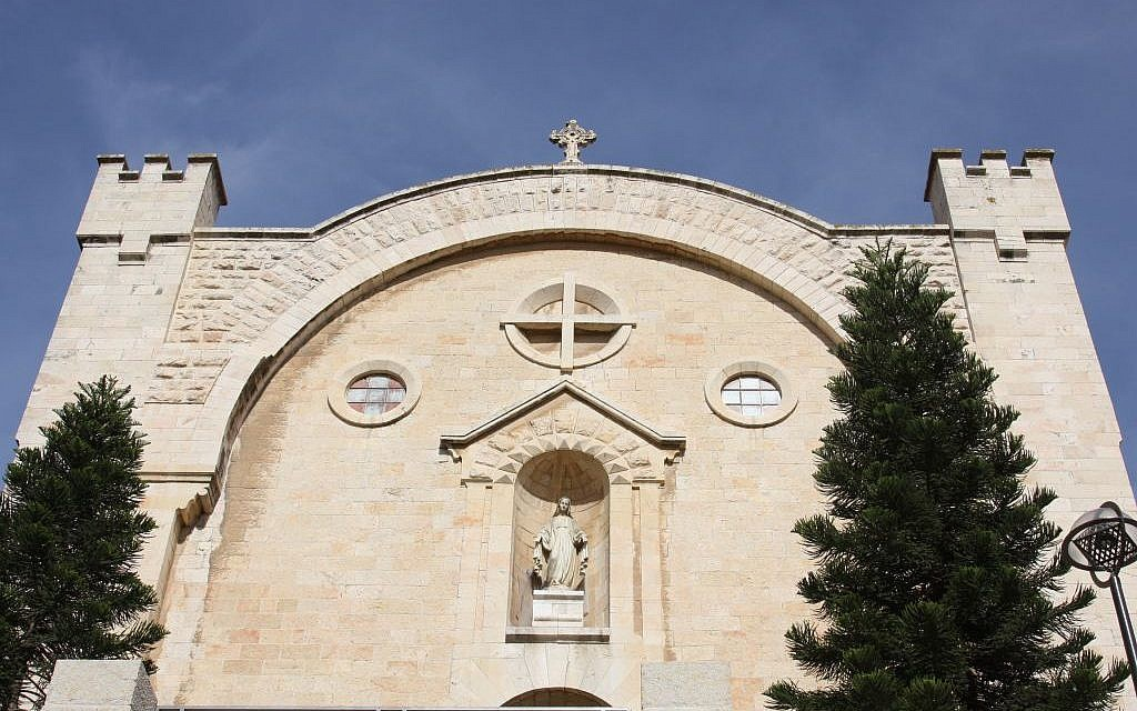 St. Vincent de Paul Convent and Hospice at Mamilla (Shmuel Bar-Am)