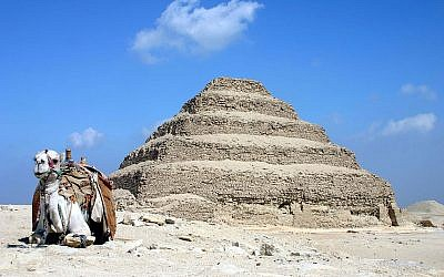 The Step Pyramid at Saqqara (Wikimedia Commons, CC BY-SA 3.0, Charlesjsharp)
