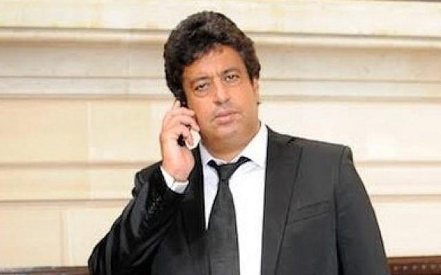 French parliament member Meyer Habib. (Erez Lichtfeld)