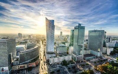 Warsaw skyline (Pixabay)