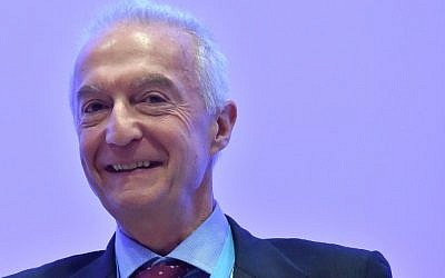 Gilles de Kerchove, Counter-terrorism coordinator at the Council of the European Union, attends the Mediterranean Dialogues (MED), a three-day conference on security in the Mediterranean region, on December 11, 2015 in Rome. (AFP PHOTO / ALBERTO PIZZOLI)