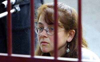 US national Lori Berenson listens to her charges at a courthouse in Lima on March 20, 2001. (AFP PHOTO/ALEJANDRA BRUN)