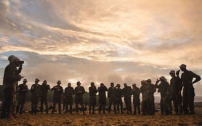 Illustration. IDF recruits. (IDF Spokesperson's Unit/Flickr)