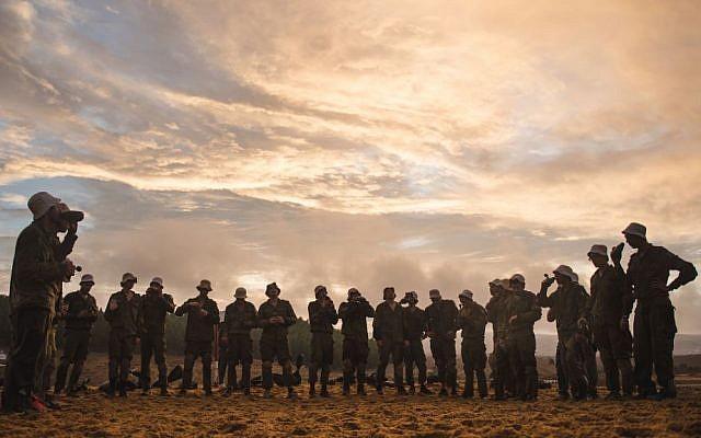 Illustration. IDF recruits. (IDF Spokesperson's Unit/Flickr)