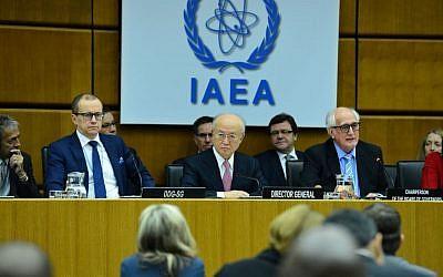 The IAEA Board of Governors meeting in Austria, December 15, 2015. (Dean Calma/IAEA)