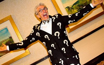 Matthew Lesko, AKA the free government money guy, who has no relation to this article, but his jacket is pretty apropo. (CC BY-SA, Nakeva Corothers, Flickr)