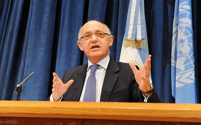 Former Argentinian foreign minister Hector Timerman (CC BY-MRECIC ARG, Flickr)