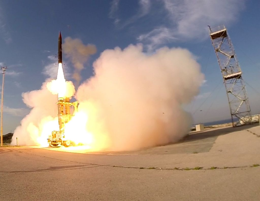 Israel postpones US-based test of Arrow-3 missile interceptor