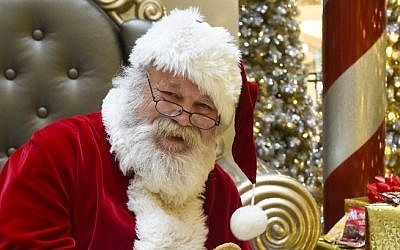 Illustrative: Santa Claus at the Mall of America in Bloomington, Minnesota. (Craig Lassig/Invision for Frito-Lay Grandma's)