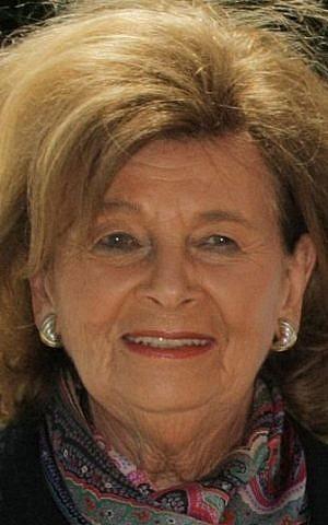 German Jewish community leader Charlotte Knobloch (Wikimedia Commons, CC-BY-SA 3.0, Michael Lucan)