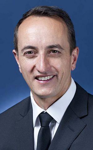 Australian Ambassador to Israel Dave Sharma (CC BY 3.0 Australia)