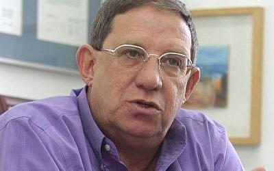 Former Shin Bet chief Carmi Gillon. (Orel Cohen/Flash90)