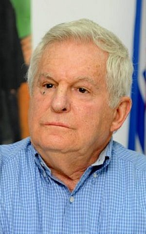 Former head of the IDF's Northern Command, Amiram Levin (Flash 90)