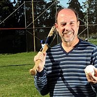 President and general manager of the Israeli national baseball team, Peter Kurz. (Courtesy Israel Association of Baseball)
