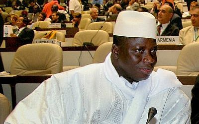 Gambia's President Yahya Jammeh (CC BY-SA 3.0 Zantastik)