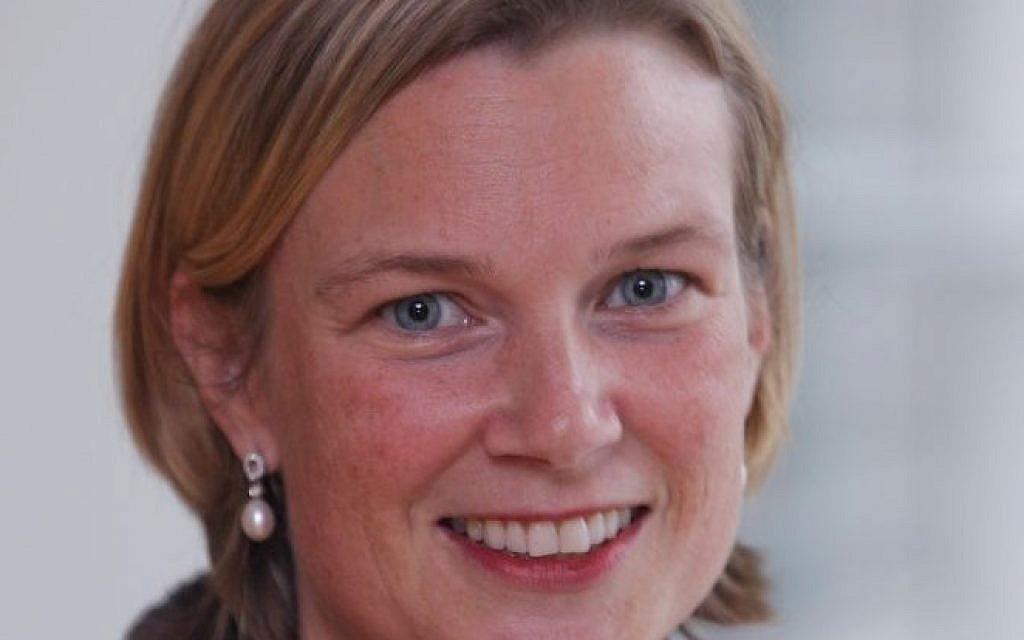 Katharina von Schnurbein, the EU's new coordinator for efforts to combat anti-Semitism. (courtesy EU Commission)