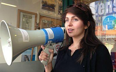 Citizens UK organizer for British Jewish communities Charlotte Fischer (courtesy)