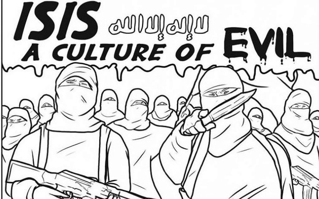 Coloring Book Highlights Brutality Of Islamic State