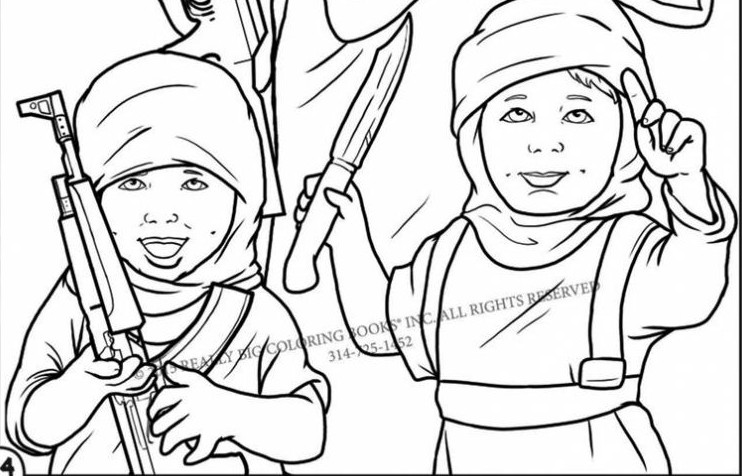 Coloring book highlights brutality of Islamic State | The Times of ...